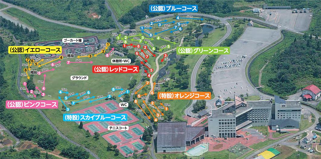 グラウンド・ゴルフマップ