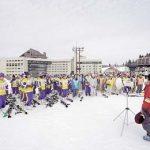 スキースクール 開校式・あいさつ