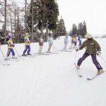 スキー講習 (第4リフト)