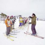 スキー講習 (出発日朝)