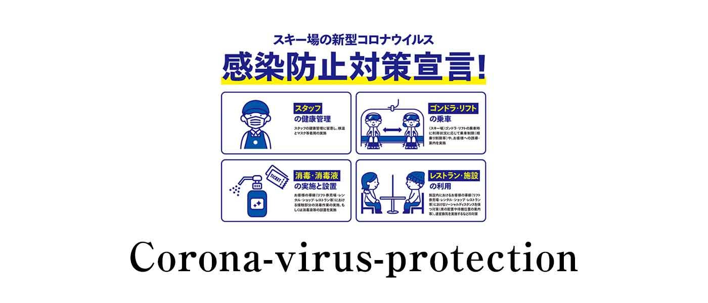 新型コロナウイルス感染拡大防止に対する取り組み